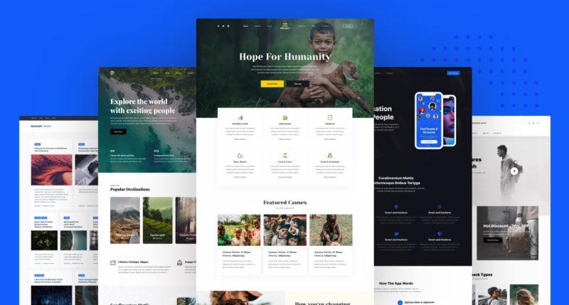 Blocksy Starter Sites
