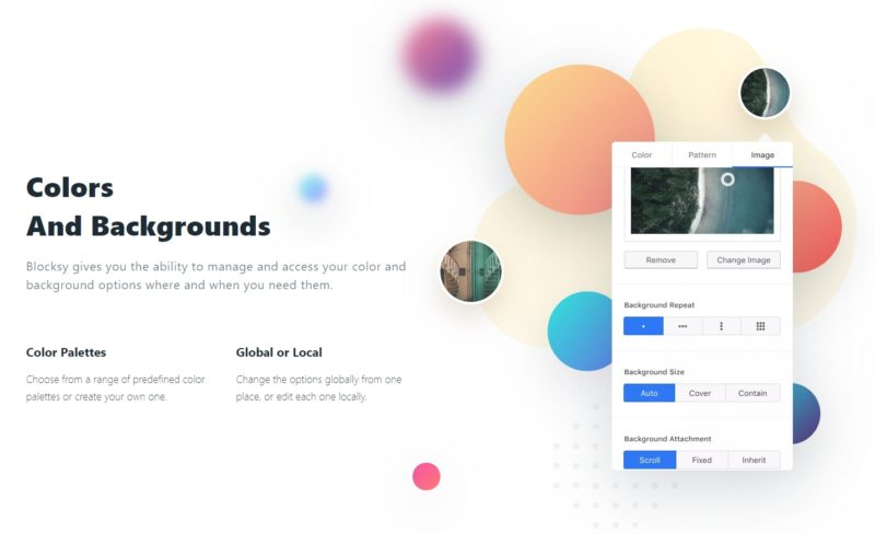 Blocksy Theme - Color and Backgrounds Options