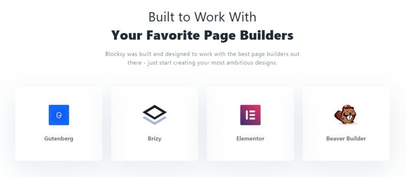 Blocksy Theme - High Page Builder Compatibility