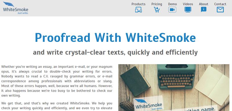 WhiteSmoke- Proofreading Tool
